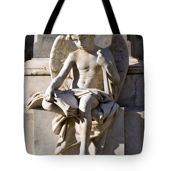 Tote Bag featuring the photograph Angel Of Baroque by Silva Wischeropp