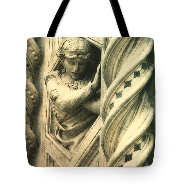 Angel Of The Basilica Tote Bag