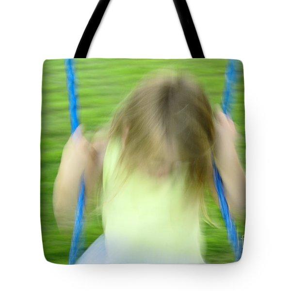 Angel Swing Tote Bag by Aimelle