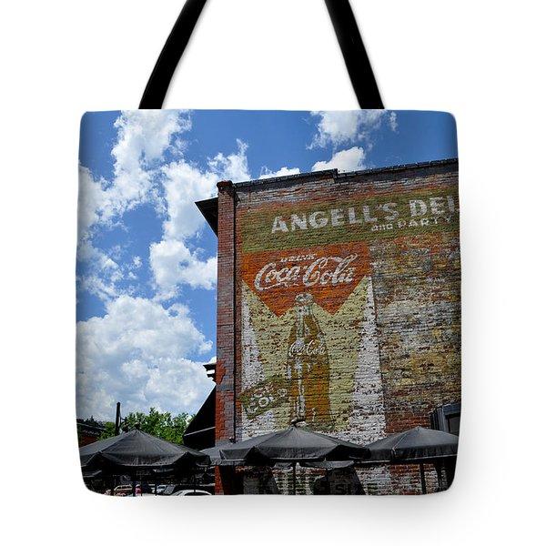 Angell's Deli Tote Bag by Anjanette Douglas