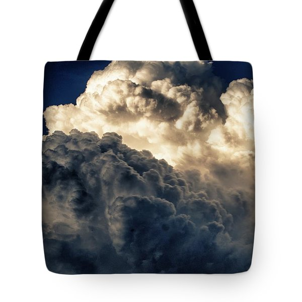 Angels And Demons Tote Bag by Syed Aqueel