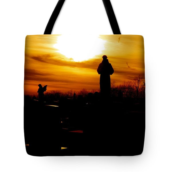 Angel's In The Sky Tote Bag