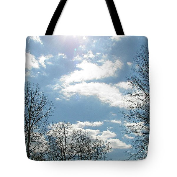 Tote Bag featuring the photograph Angels On High by Pamela Hyde Wilson