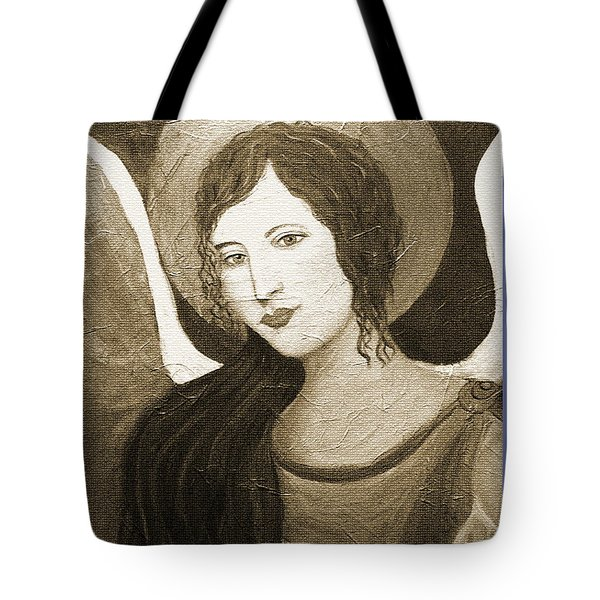 Angels Watching Over Me Tote Bag by The Art With A Heart By Charlotte Phillips