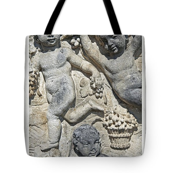 Angels With Grapes Tote Bag by Joana Kruse