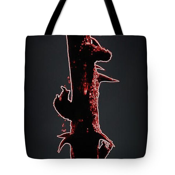 Tote Bag featuring the photograph Anger by Renee Trenholm