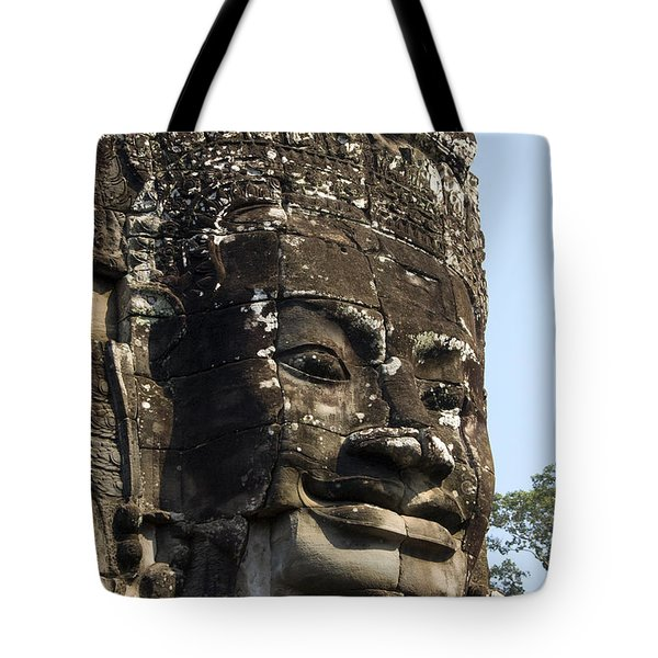 Angkor Thom Fae Tote Bag by Gloria & Richard Maschmeyer