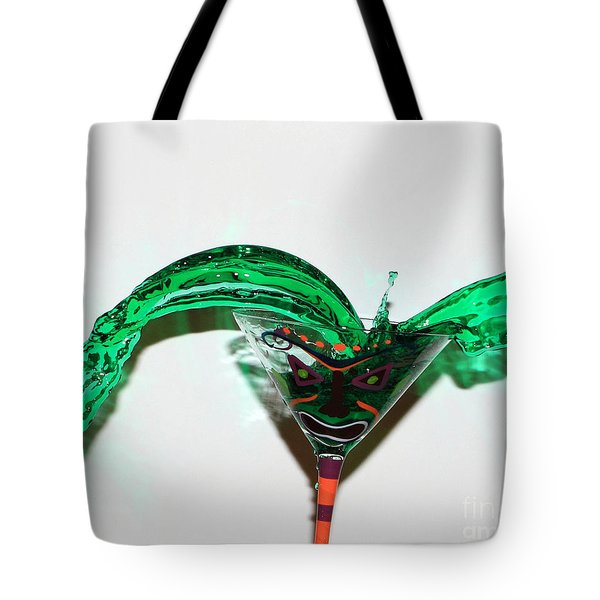 Angry Martini Tote Bag by Lloyd Alexander