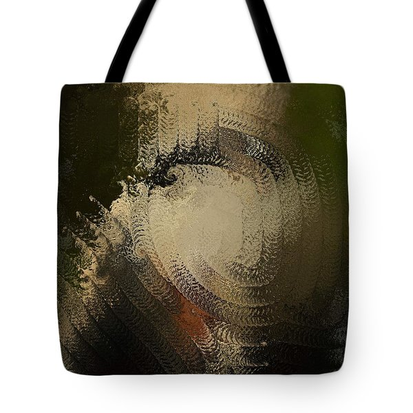 Tote Bag featuring the painting Angry Monkey by George Pedro
