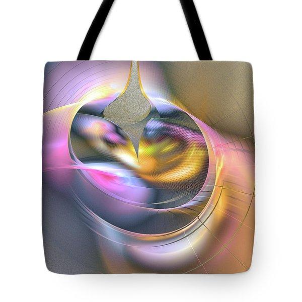 Anima Felix - Abstract Art Tote Bag