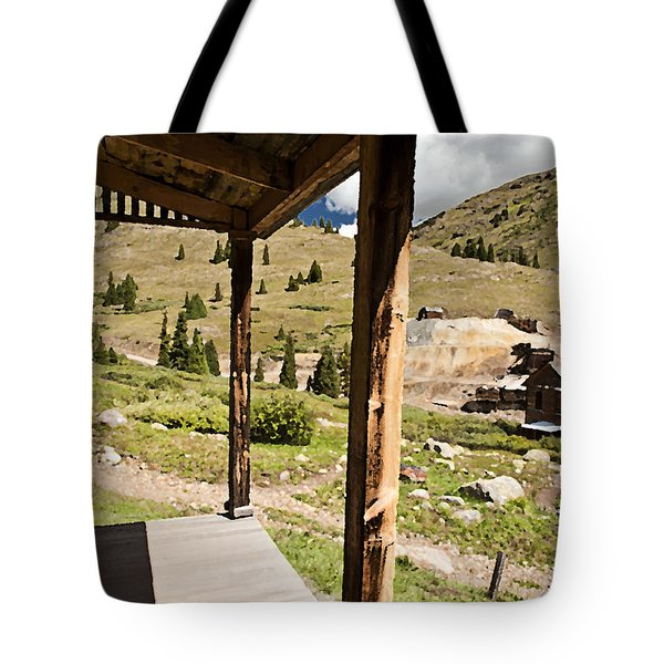Animas Forks Palette Tote Bag by Melany Sarafis