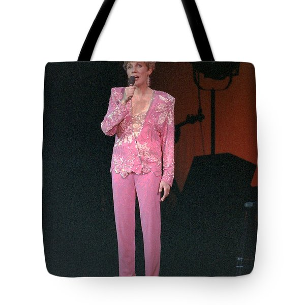 Anne Murray Tote Bag by Mike Martin