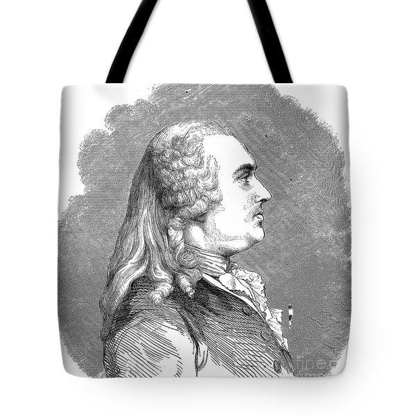 Anne Robert Turgot Tote Bag by Granger