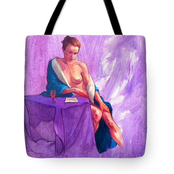 Annie's Letter Tote Bag by Roz McQuillan