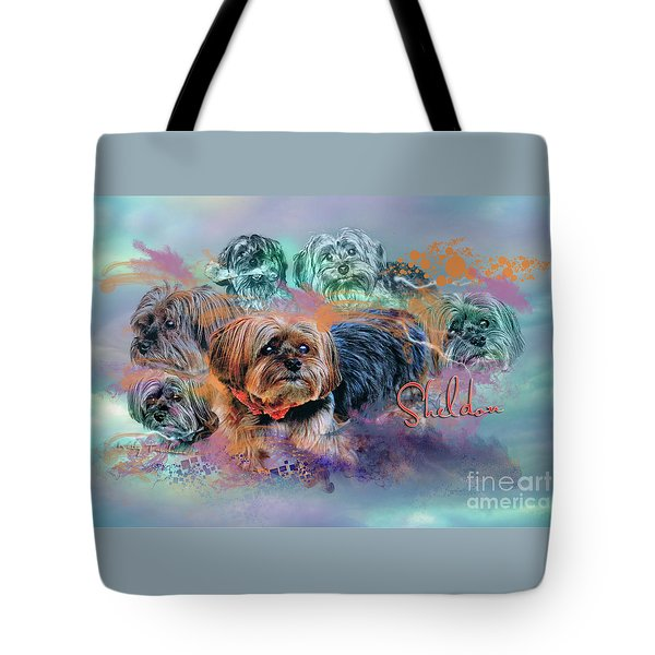 Tote Bag featuring the digital art Another Birthday 112 Years by Kathy Tarochione