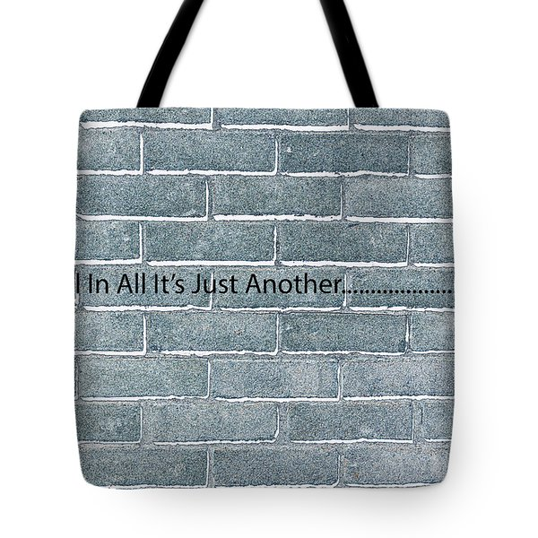 Another Brick Tote Bag