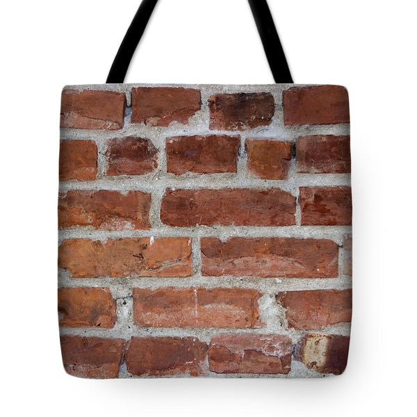 Another Brick In The Wall Tote Bag by Heidi Smith