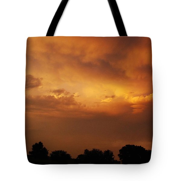 Another Wonderful Wisconsin Sunset Tote Bag