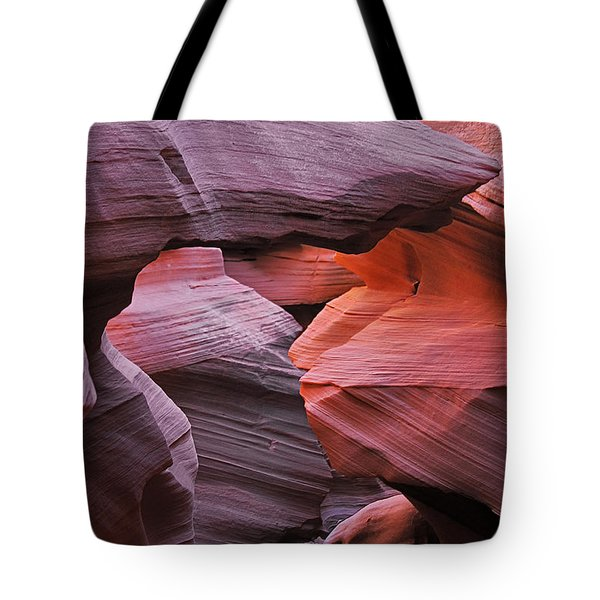 Antelope Canyon - Canvas For Nature's Compositions Tote Bag by Christine Till