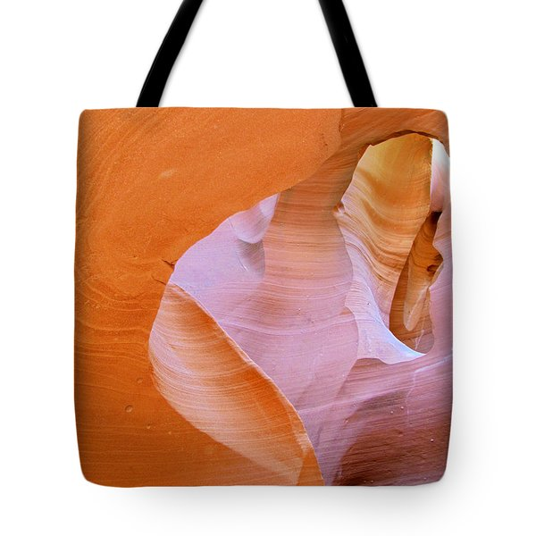 Antelope Canyon - Magnificent Play Of Light And Color Tote Bag by Christine Till