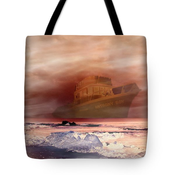 Anthony Boy's Magical Voyage Tote Bag