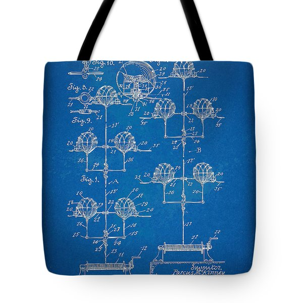 Anti-aircraft Air Mines Patent Artwork 1916 Tote Bag by Nikki Marie Smith