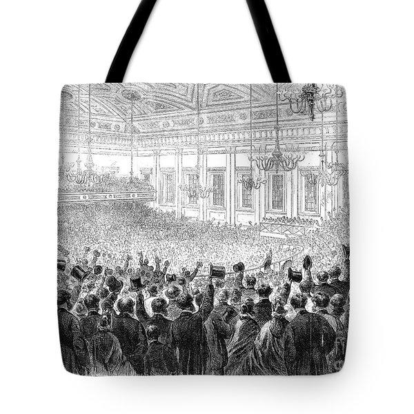 Anti-slavery Meeting, 1863 Tote Bag by Granger