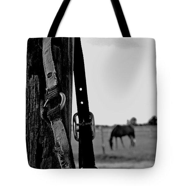 Anticipating Tote Bag by Karen Harrison