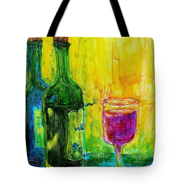 Tote Bag featuring the painting Anticipation by Mary Kay Holladay