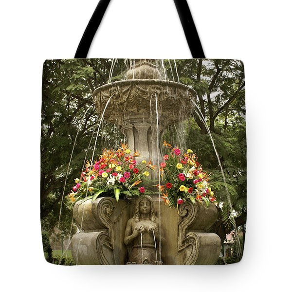 Antigua Fountain Tote Bag