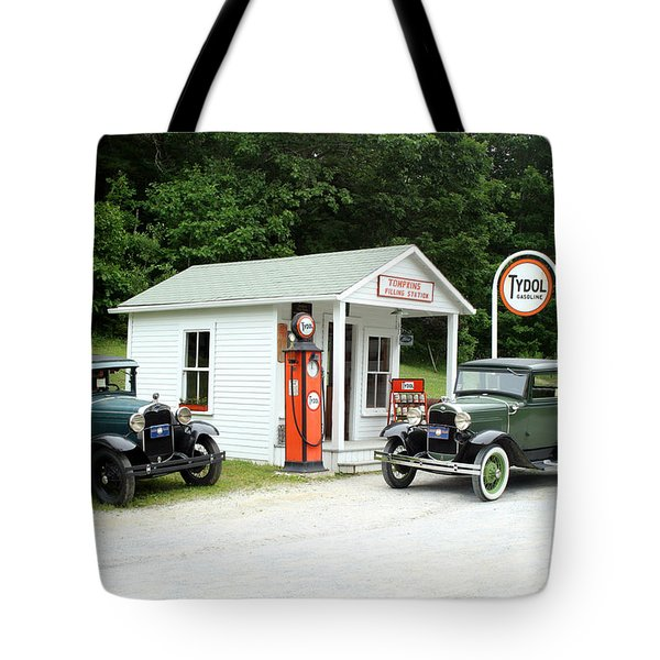 Antique Cars Tote Bag by Ted Kinsman