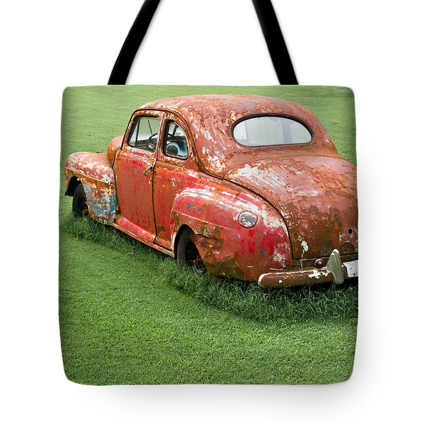Antique Ford Car 5 Tote Bag by Douglas Barnett