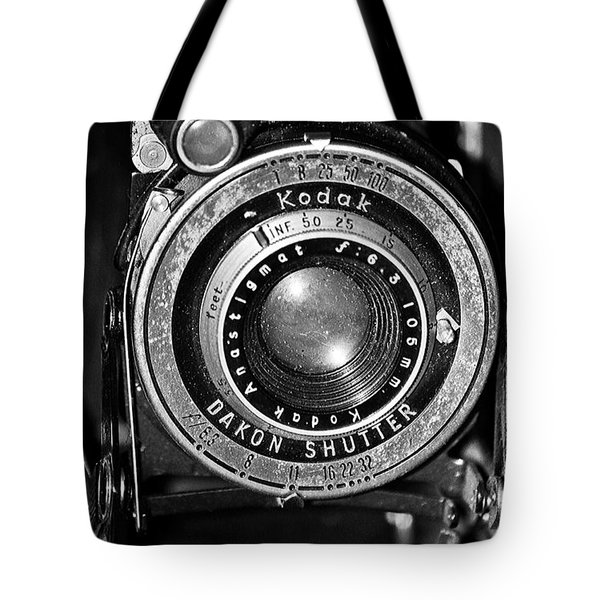 Antique Kodak Tote Bag by Juls Adams