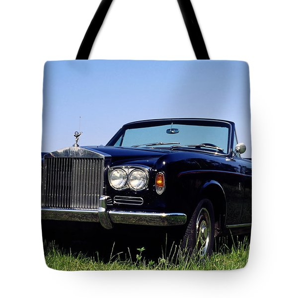 Antique Rolls Royce Tote Bag