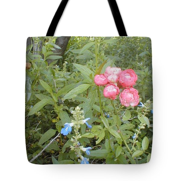 Antique Rose Tote Bag by Vonda Lawson-Rosa