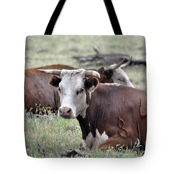Apache Cattle Tote Bag