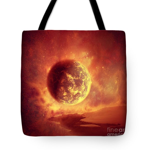 Apocalypse  Tote Bag by Ester  Rogers