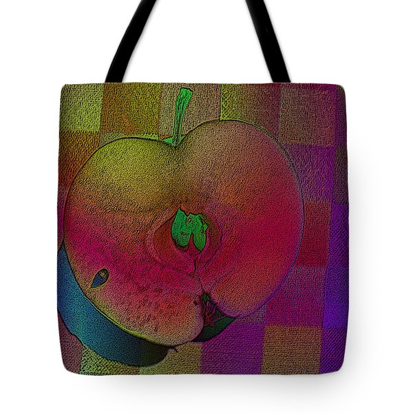 Tote Bag featuring the photograph Apple Of My Eye by David Pantuso