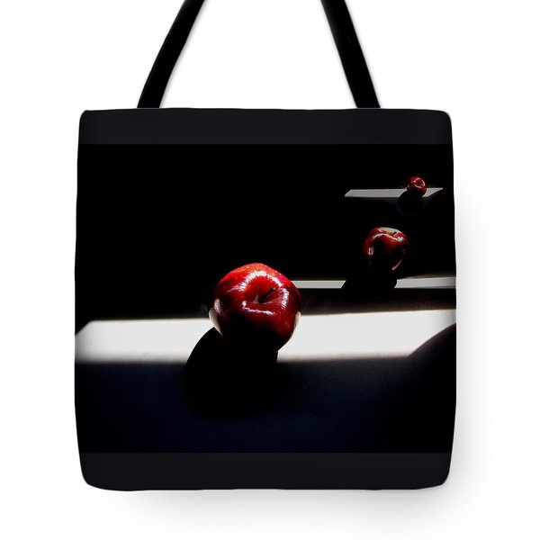 Apple Still Life 1 Tote Bag by Cedric Hampton