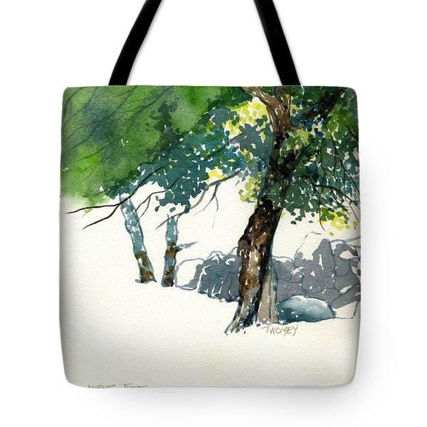 Apple Tree Morgan's Pond Tote Bag