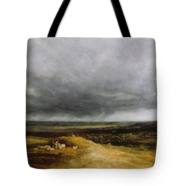 Approaching Storm Tote Bag by Georges Michael