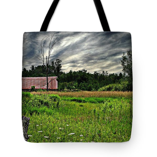 Approaching Storm  Tote Bag by Ms Judi