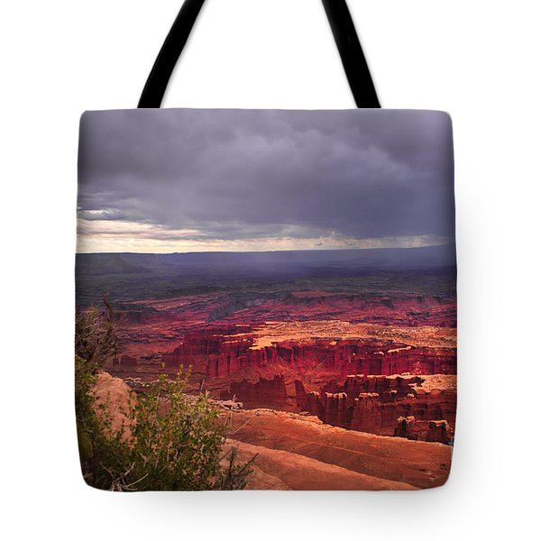 Approaching Storm  Tote Bag by Robert Bales