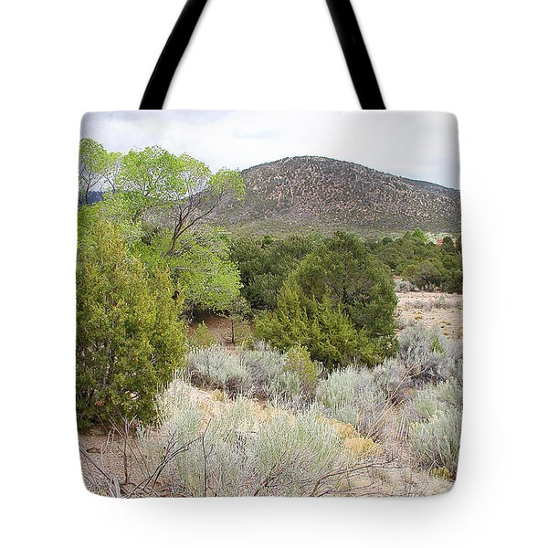 April New Mexico Desert Tote Bag by Kathleen Grace
