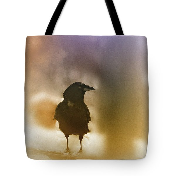 April Raven Tote Bag by Susan Capuano