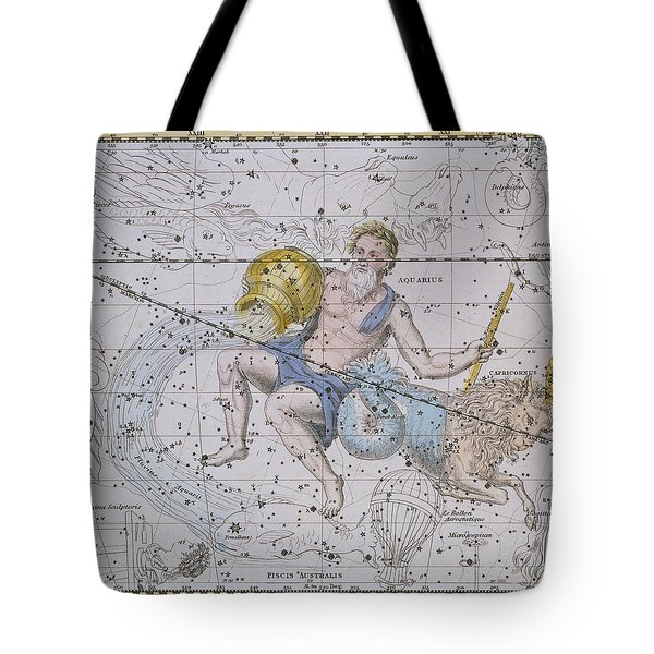 Aquarius And Capricorn Tote Bag by A Jamieson