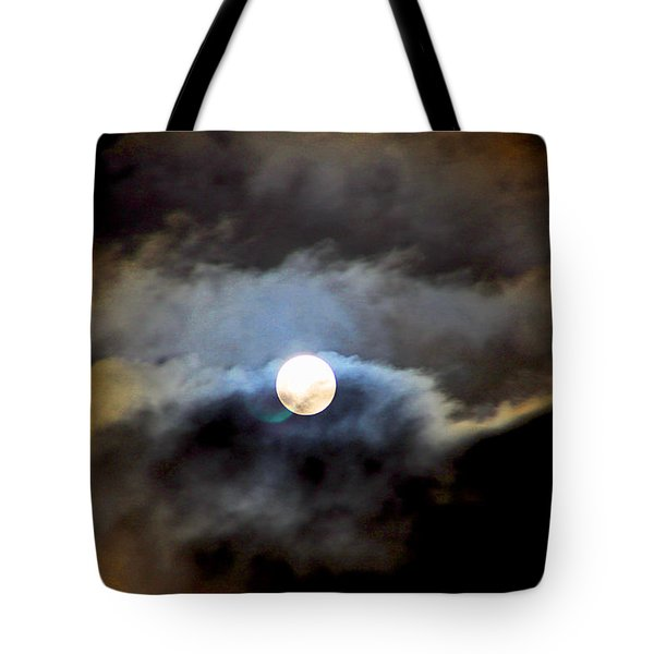 Aquarius Full Moon Tote Bag