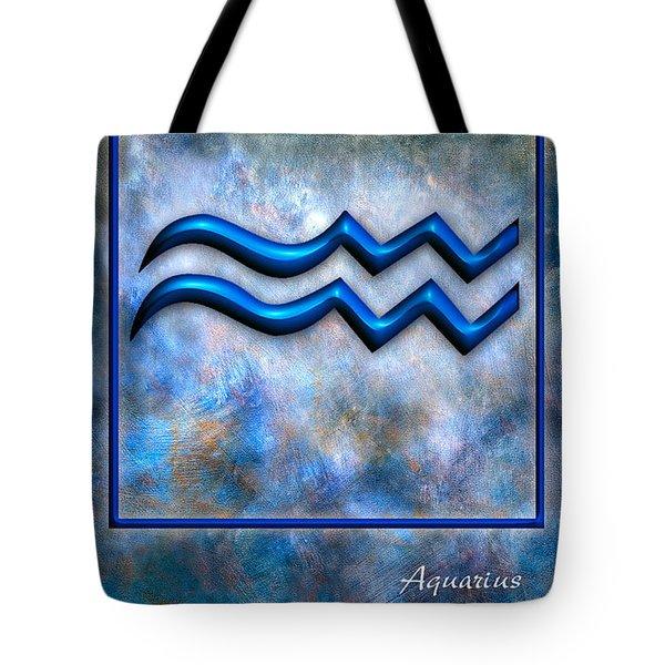 Aquarius  Tote Bag by Mauro Celotti