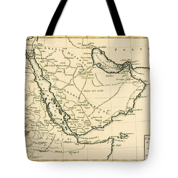 Arabia Tote Bag by Guillaume Raynal