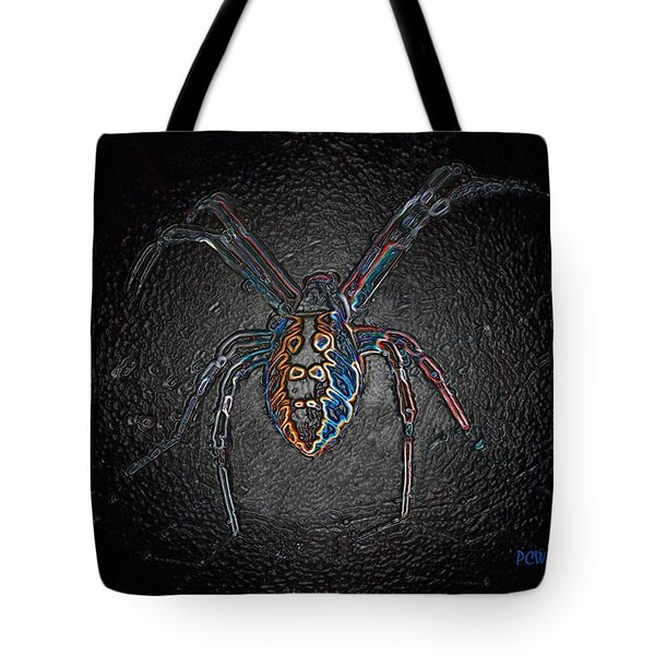 Tote Bag featuring the photograph Arachnophobia by Patrick Witz